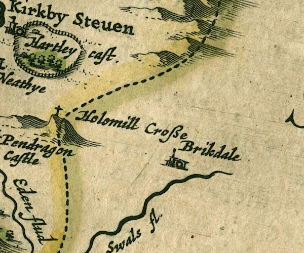 Jansson 1646, places identified