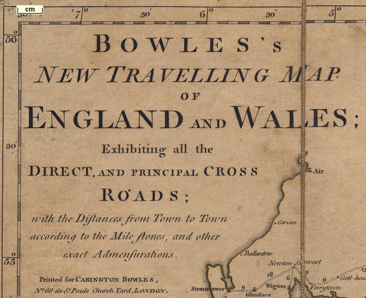 Road Map Of England And Wales With Towns.Lakes Map Bowles S New Travelling Map Of England And Wales