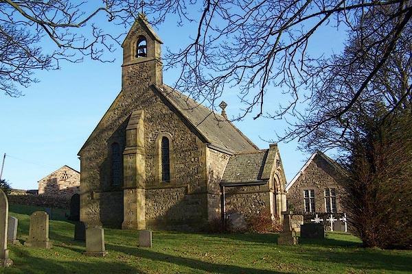 Old Cumbria Gazetteer All Saints Lupton