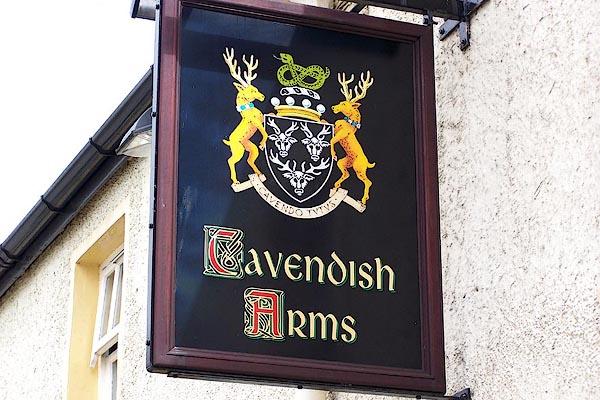 Old Cumbria Gazetteer Cavendish Arms Cartmel