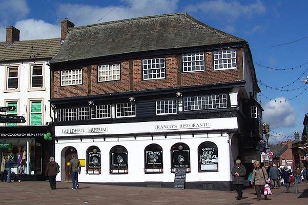 Foyer Museum Zip Code : Old cumbria gazetteer guildhall carlisle