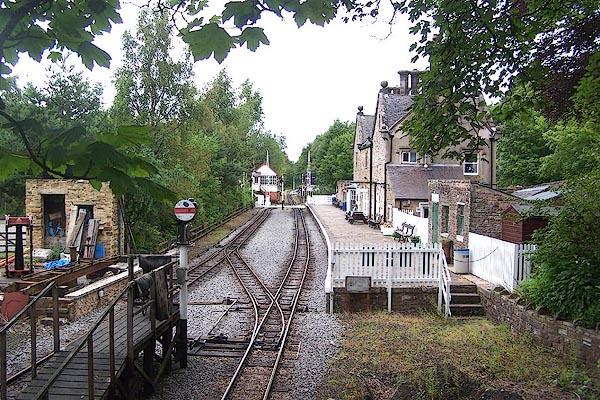 Old Cumbria Gazetteer Alston Station Alston