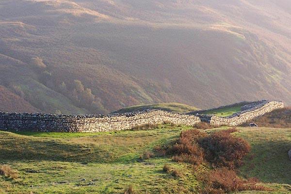 Old Cumbria Gazetteer Roman Fort Hardknott Pass