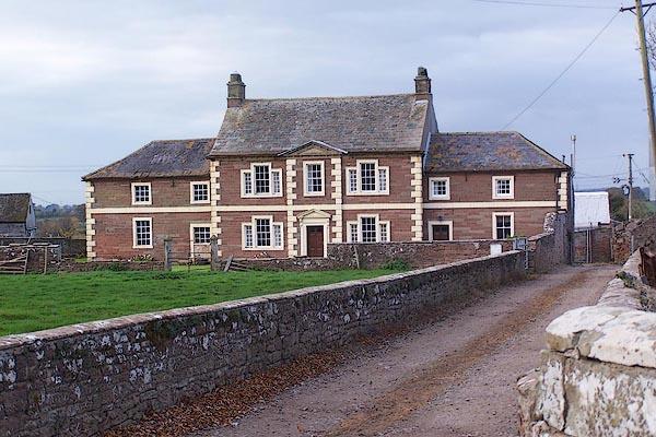Old Cumbria Gazetteer Cardew House Dalston