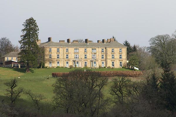 Old Cumbria Gazetteer  Gilsland Spa Hotel  Gilsland