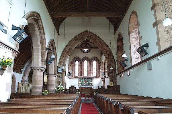 Old Cumbria Gazetteer St Mary Walton