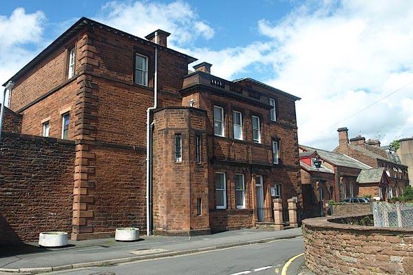 Old Cumbria Gazetteer Penrith Police Station Penrith