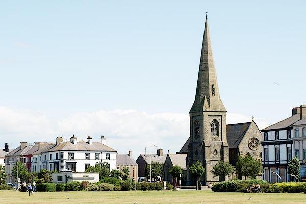 Old Cumbria Gazetteer Christ Church Silloth