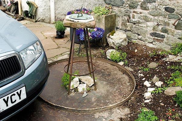 Old Cumbria Gazetteer Sundial Hesket Newmarket