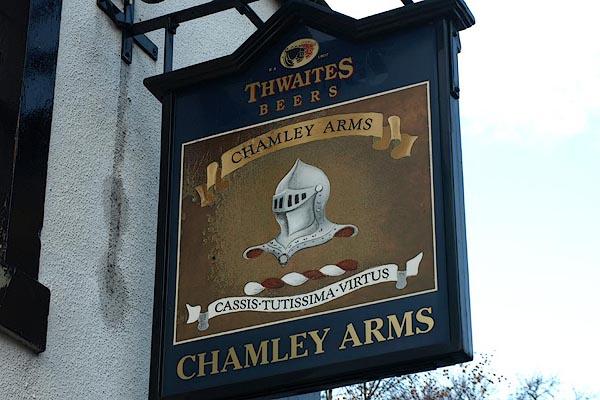 Old Cumbria Gazetteer Chamley Arms Warcop