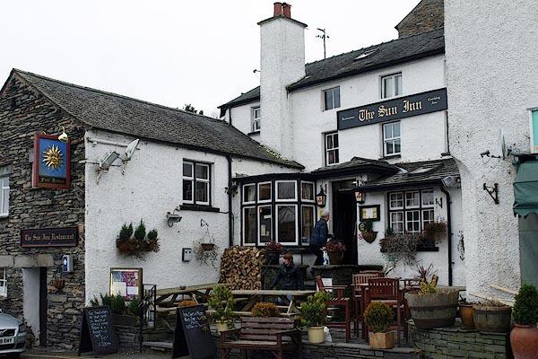 Old Cumbria Gazetteer Sun Inn Hawkshead