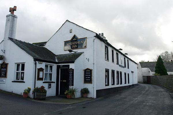Old Cumbria Gazetteer, Wheatsheaf Inn, Low Lorton