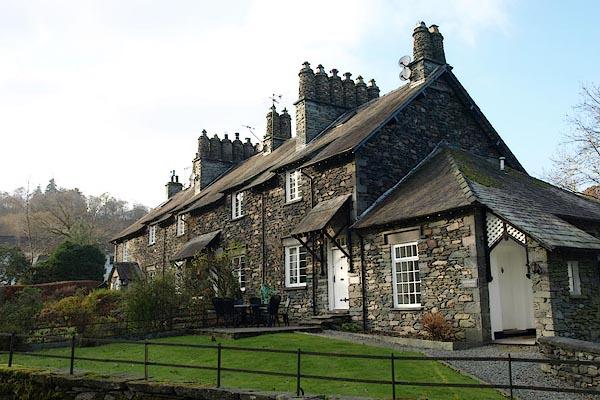 Old Cumbria Gazetteer Riverside House Skelwith Bridge