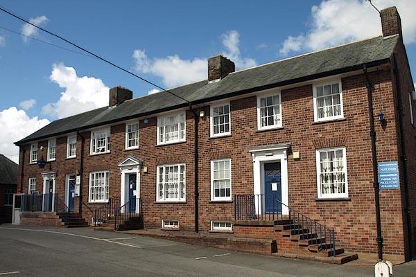 Old Cumbria Gazetteer Wigton Police Station Wigton